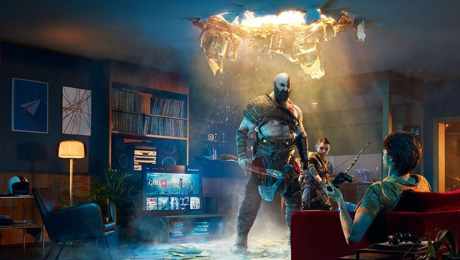Sony-Werbebild zu Playstation Now: Das Monatsabo ist bald günstiger