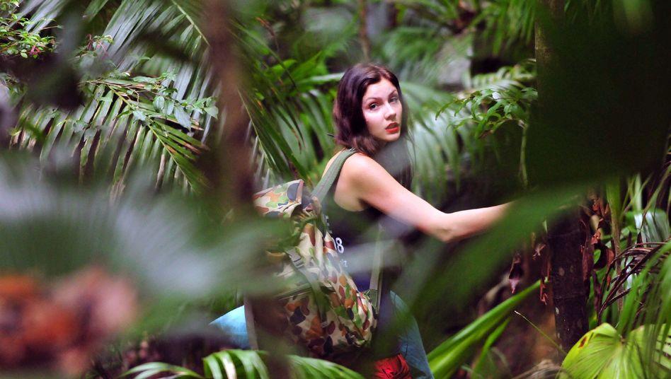 Nathalie Volk im Dschungelcamp