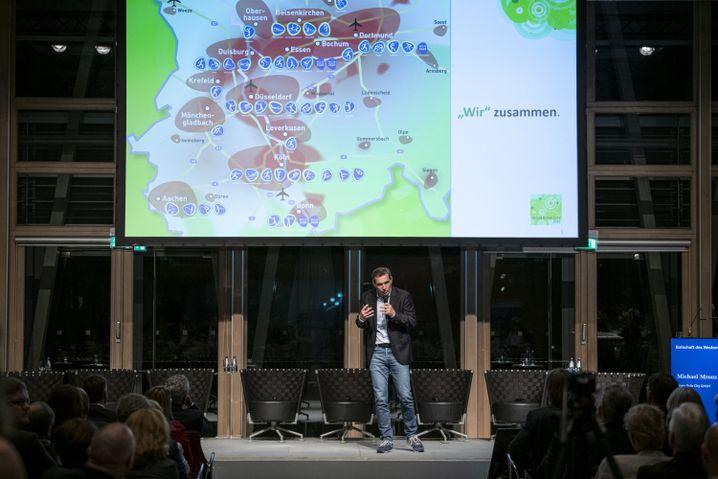 Sportvermarkter Michael Mronz stellte am Montag das Konzept für die Initiative in NRW vor