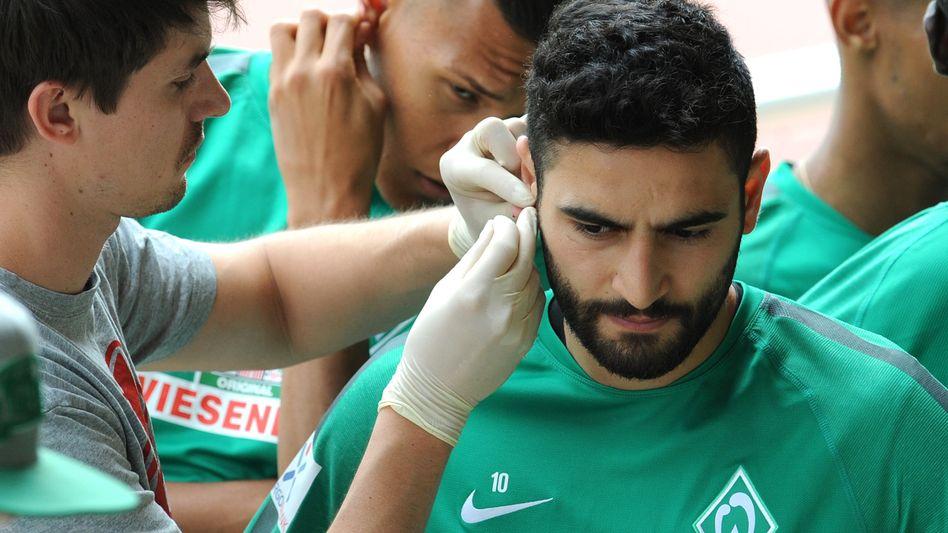 Laktattest bei Spieler von Werder Bremen: Messung einzelner Parameter genügt nicht für eine optimale Trainingssteuerung