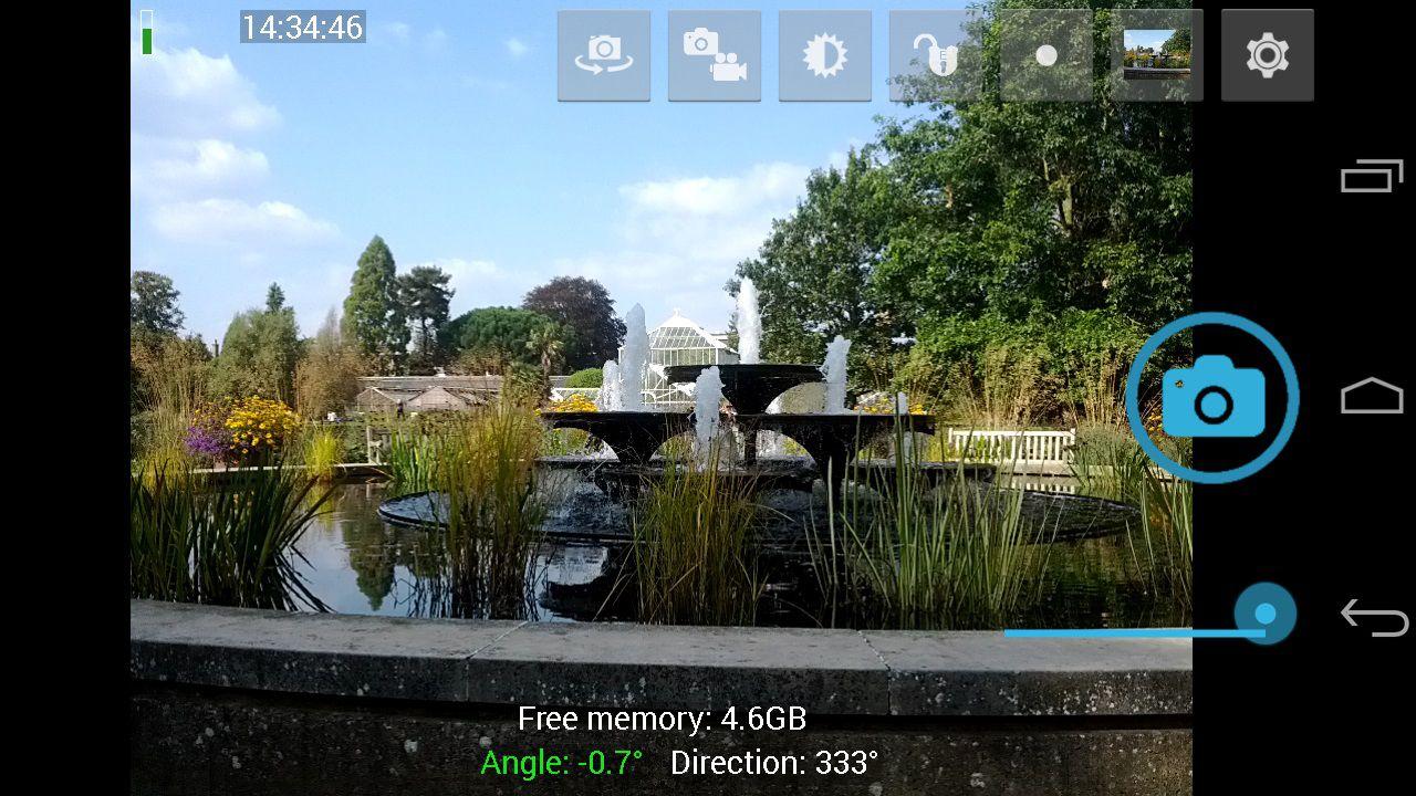 EINMALIGE VERWENDUNG Kamera-Apps