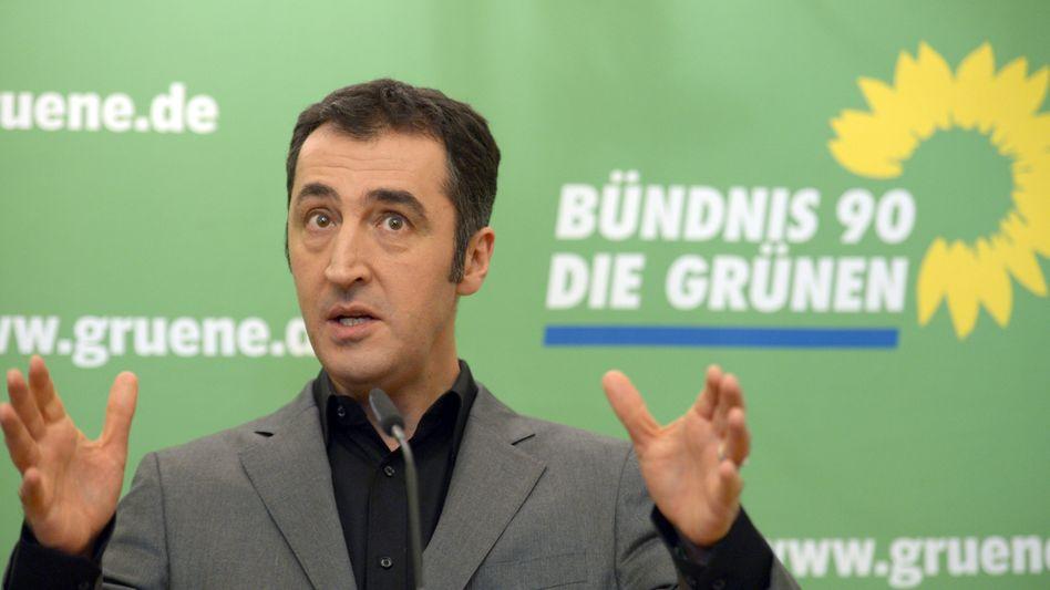Grünen-Chef Cem Özdemir: Muss sich für Versprecher entschuldigen