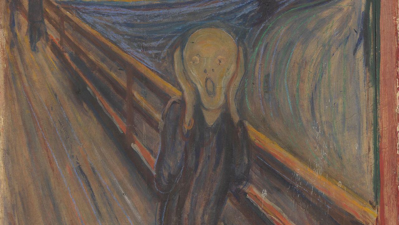 Rätsel gelöst: Wer kritzelte auf »Der Schrei«? - DER SPIEGEL