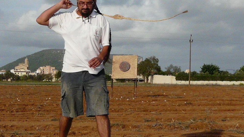 Traditionssport auf Mallorca: Stein im Anflug