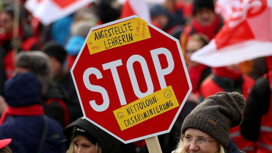 Lehrerprotest 2017 in Köln