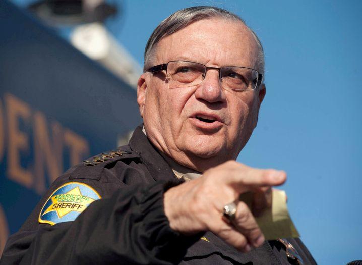 """Joe Arpaio, selbsternannter """"härtester Sheriff der USA"""" (Archivfoto von 2013)"""
