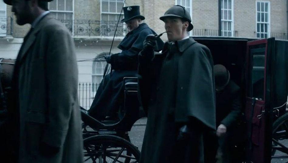 """Neuer """"Sherlock""""-Trailer: Viktorianisch zu Weihnachten"""
