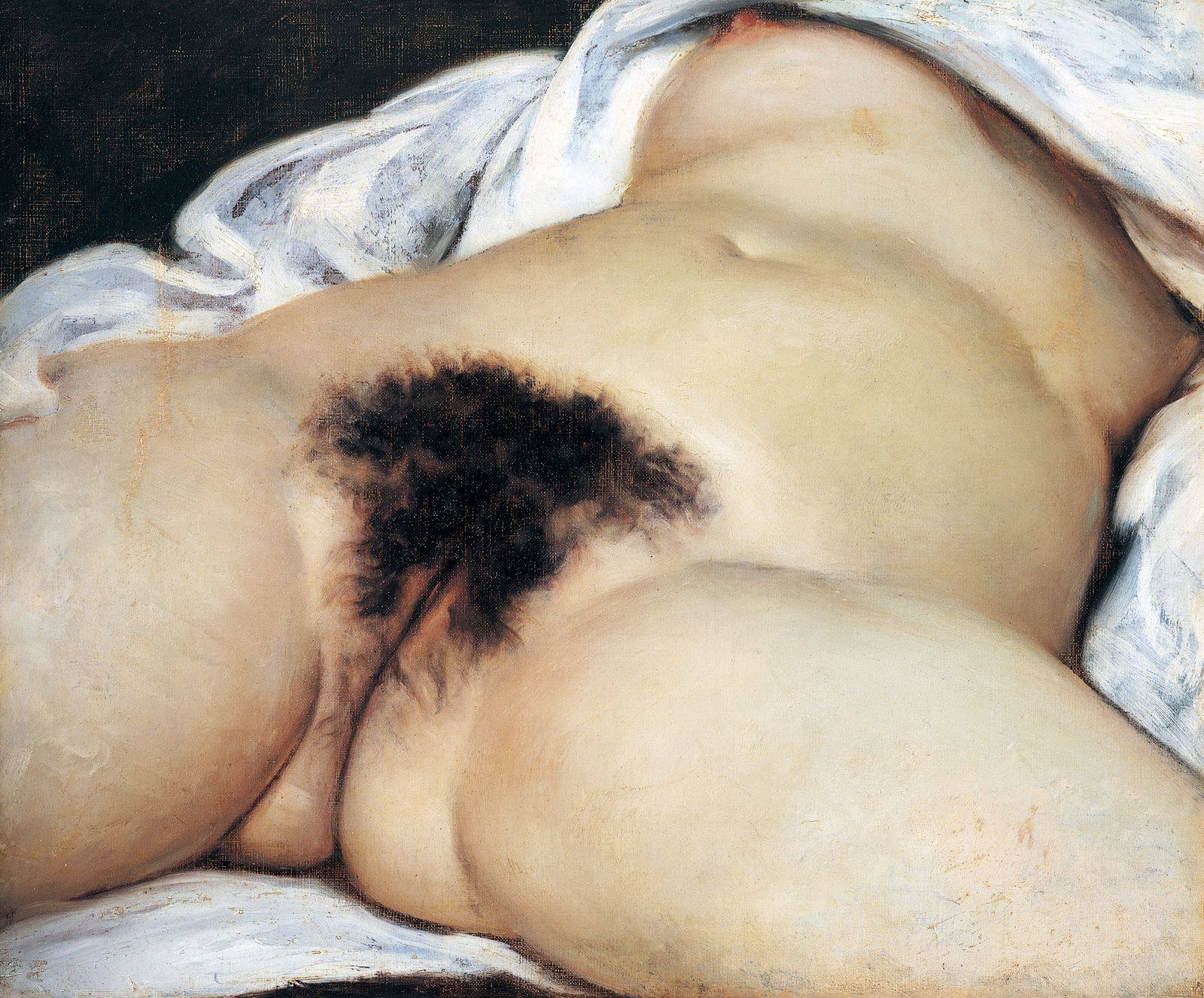 The Origin of the World, 1866, by Gustave Courbet