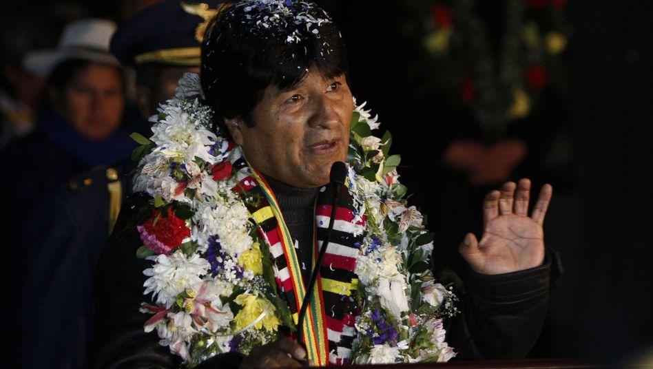 Boliviens Präsident Morales: Überflugverbot als Manöver der US-Regierung