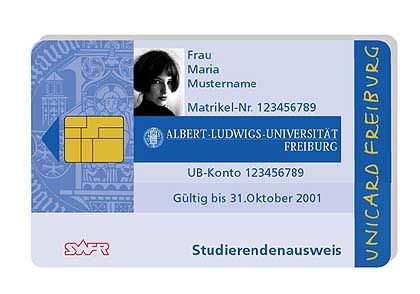 Unicard Freiburg: Chip, Chip hurra