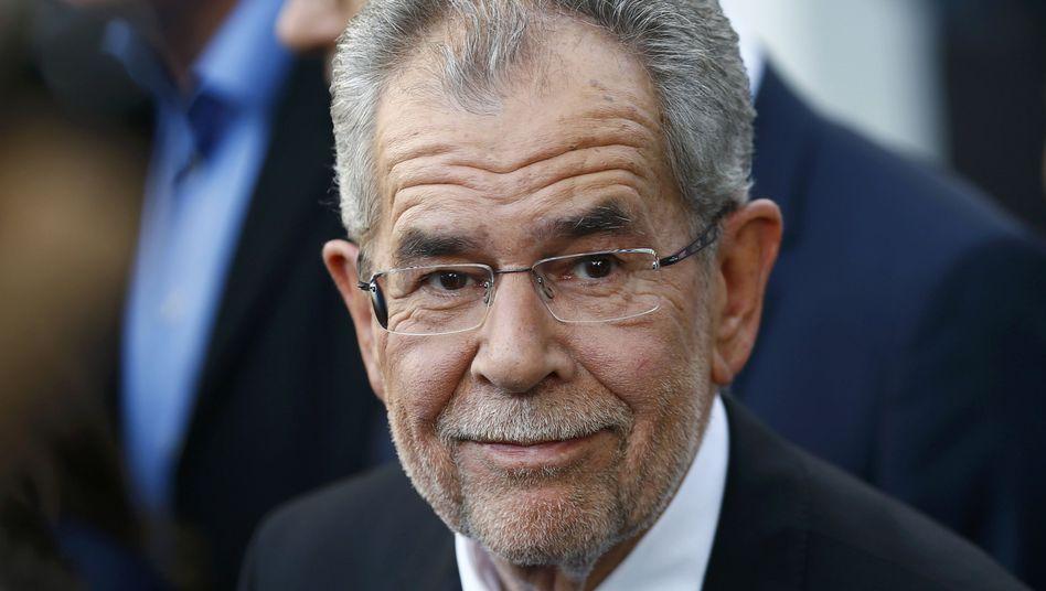 Österreichs designierter Präsident Alexander Van der Bellen