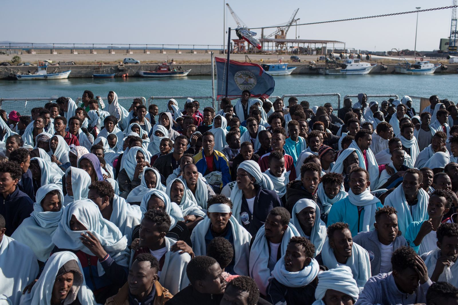 Italien / Flüchtlinge / Migranten