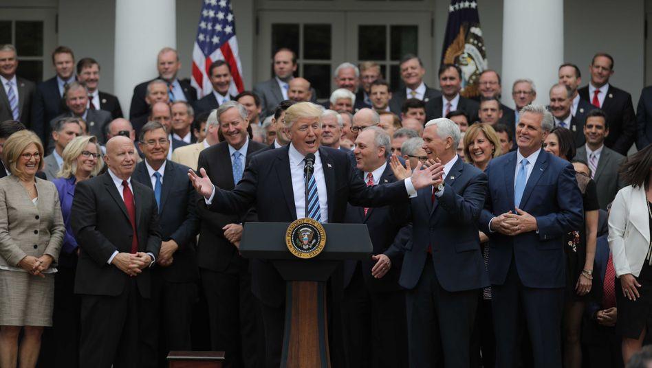 Republikaner gegen Obamacare: Trumps teurer Sieg