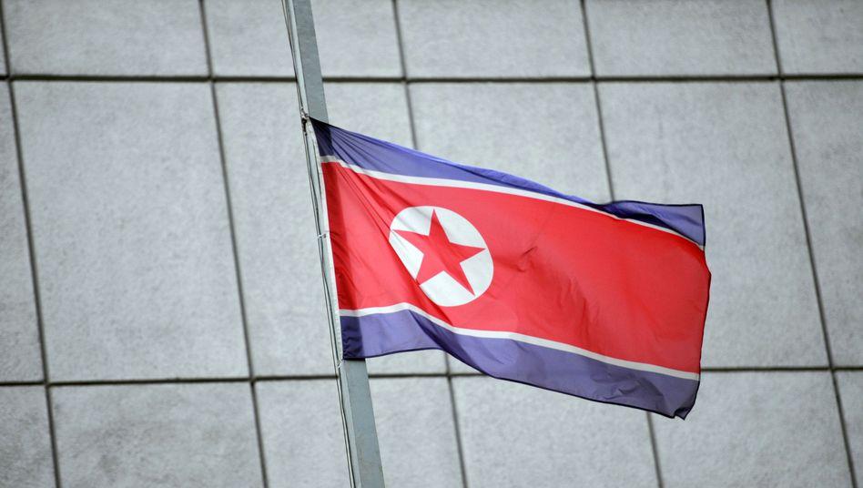 """Nordkoreas Botschaft in Berlin: Trauer um den """"geliebten Führer"""""""