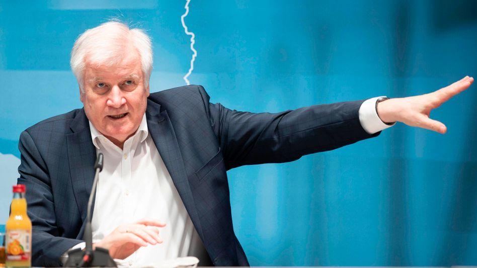 Bundesinnenminister Horst Seehofer (CSU) (Archivbild)