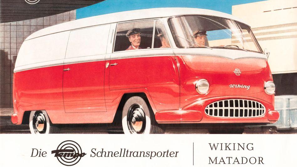 Viele Transporter mussten sich mit dem VW T1 messen, manche waren ihm sogar überlegen, wie der Tempo Matador - trotzdem sind sie heute fast vergessen