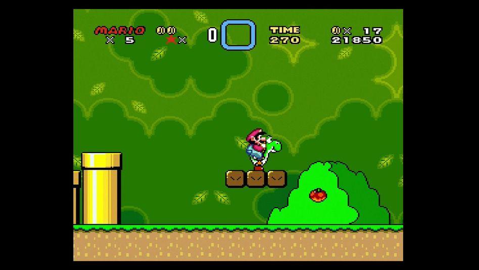 """""""Super Mario World"""": Der Nintendo-Klassiker lässt sich jetzt auch auf der Switch spielen"""