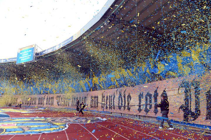 Fans von Eintracht Braunschweig