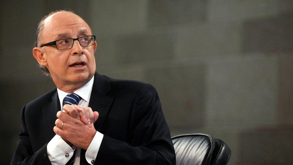 """Finanzminister Montoro: """"Wir haben als Staat ein Problem"""""""