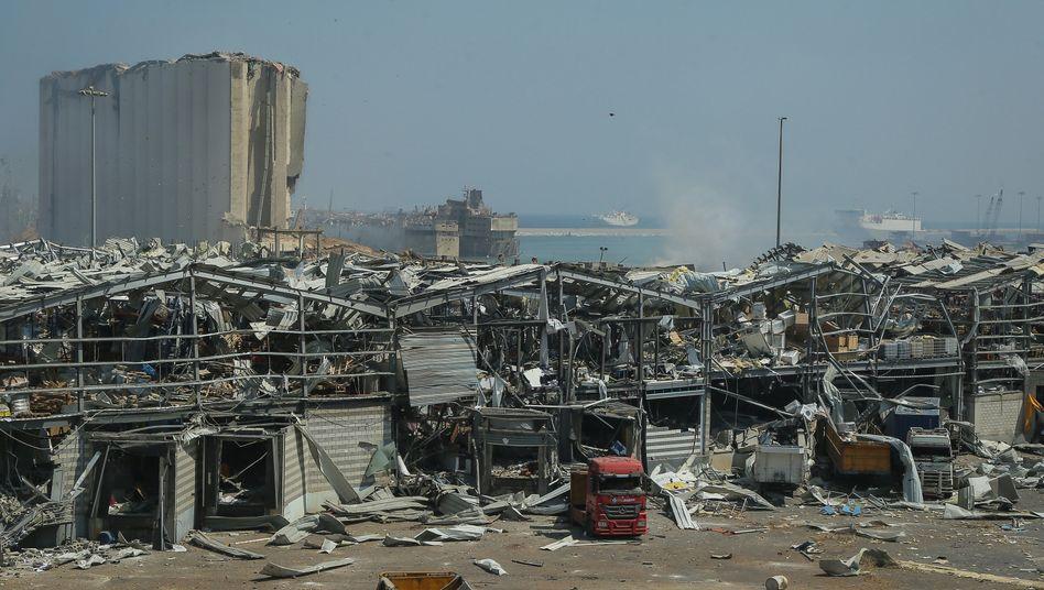 Beirut nach der verheerenden Explosion
