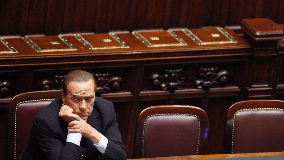 Silvio Berlusconi: Druck aus Brüssel