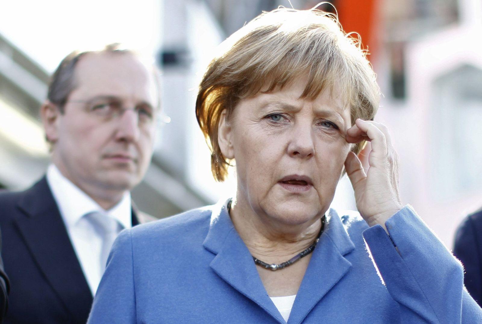 NICHT VERWENDEN Angela Merkel/