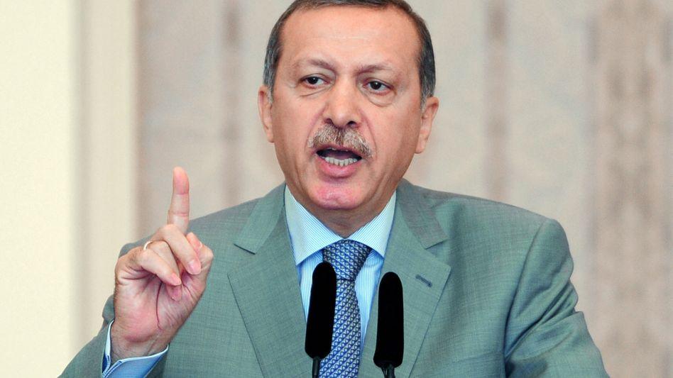Premierminister Erdogan: Die türkische Regierung hat den Ton gegenüber Israel verschärft