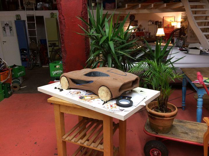 Hybrid-Auto im Hybrid-Haus: Designer Seiffert lebt und arbeitet unter einem Dach