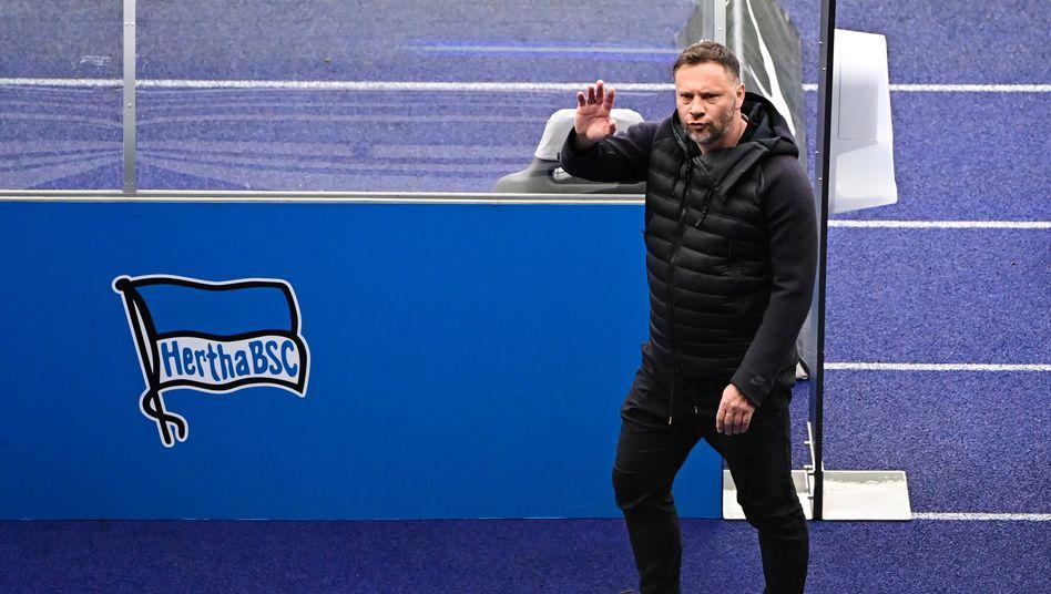 Hertha-Trainer Pál Dárdai hat mit seinem Team nun alle drei Tage ein Spiel: »Glas halb voll«