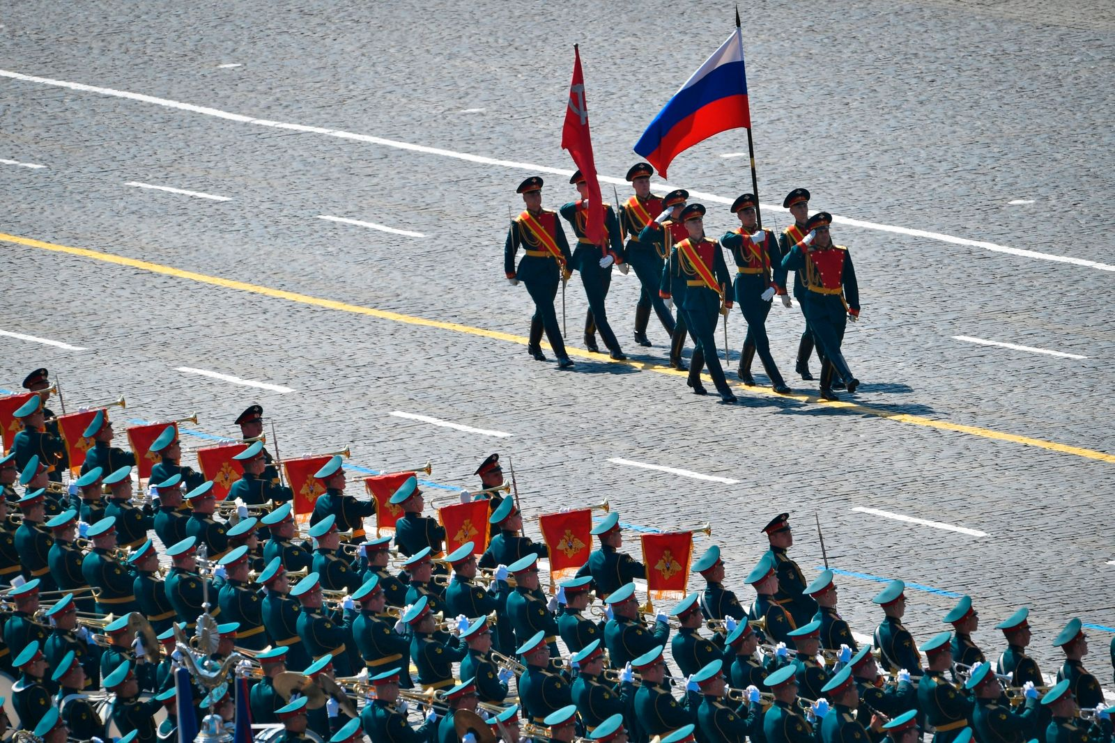 Russia Red Square Parade