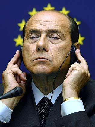 Silvio Berlusconi macht Nazi-Witze