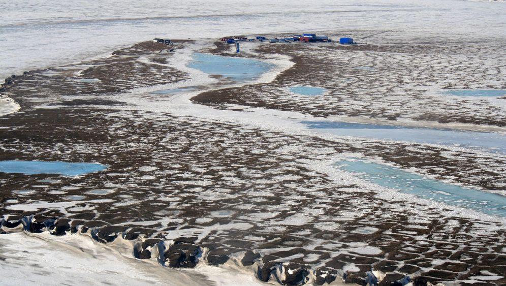 Klimawandel: Wenn das Eis im Boden schmilzt