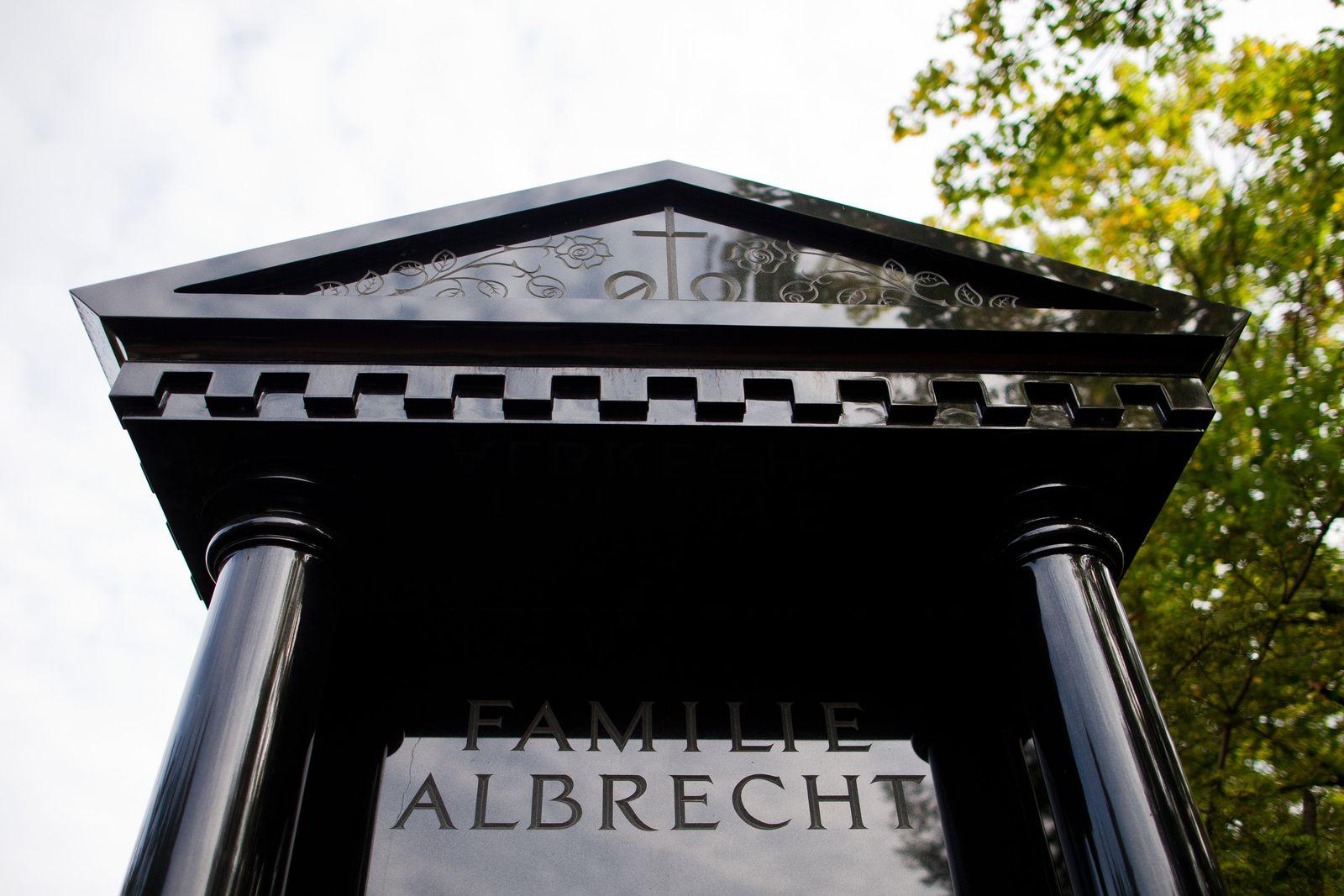 Grab der Familie Albrecht in Essen