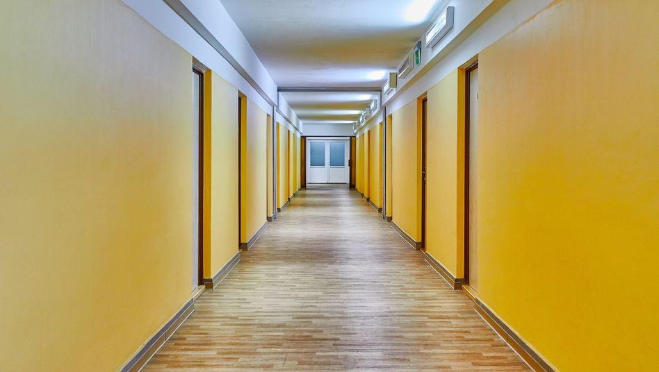 Quarantäne im Wohnheim: Alle bleiben in ihren Zimmern (Symbolbild)