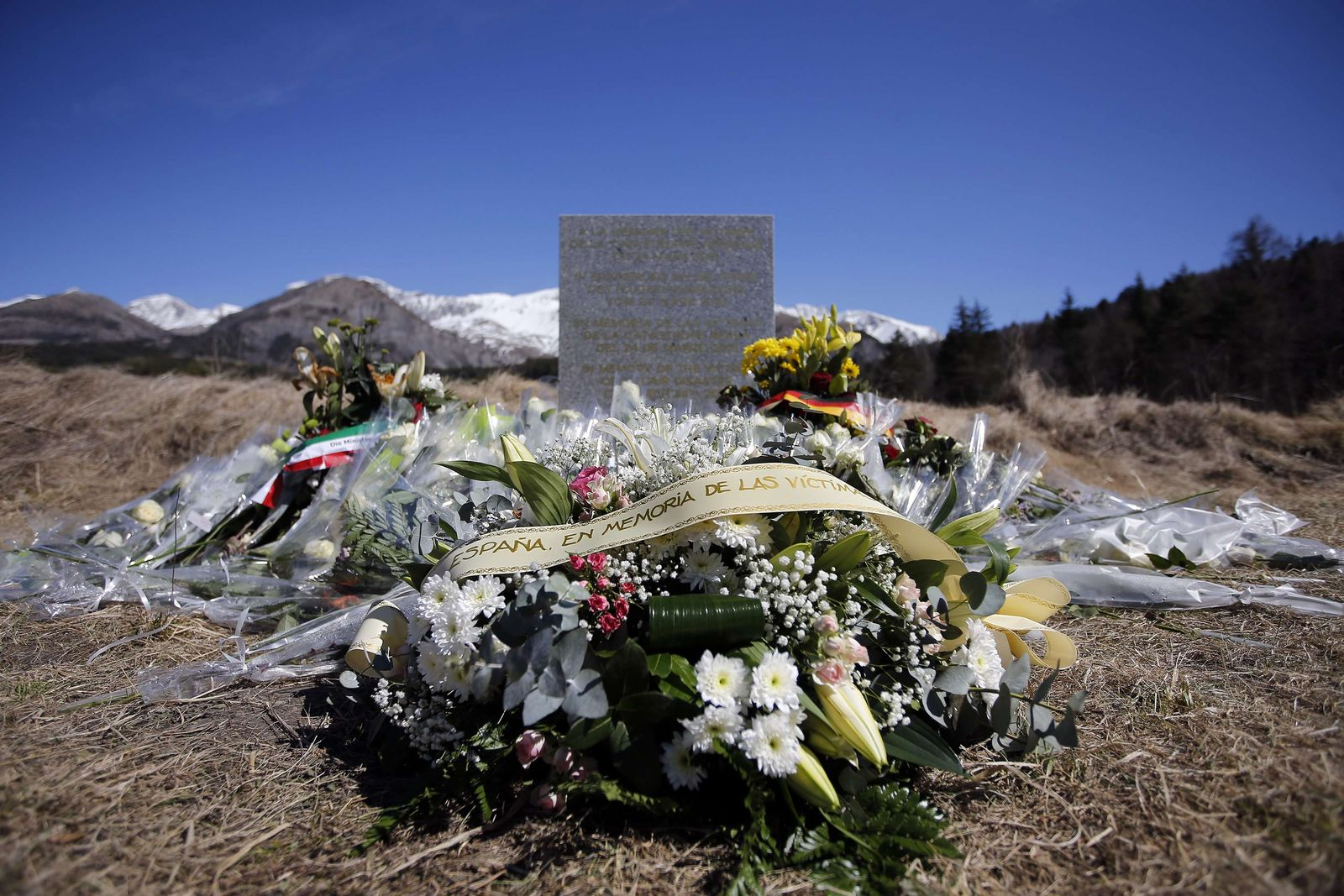 Germanwings Gedenkstelle