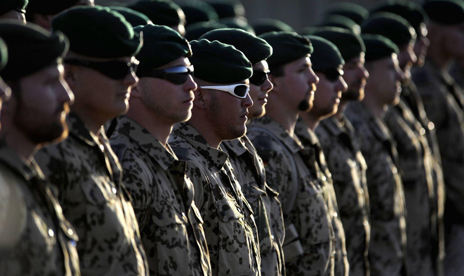 NICHT VERWENDEN Afghanistan / Bundeswehreinsatz