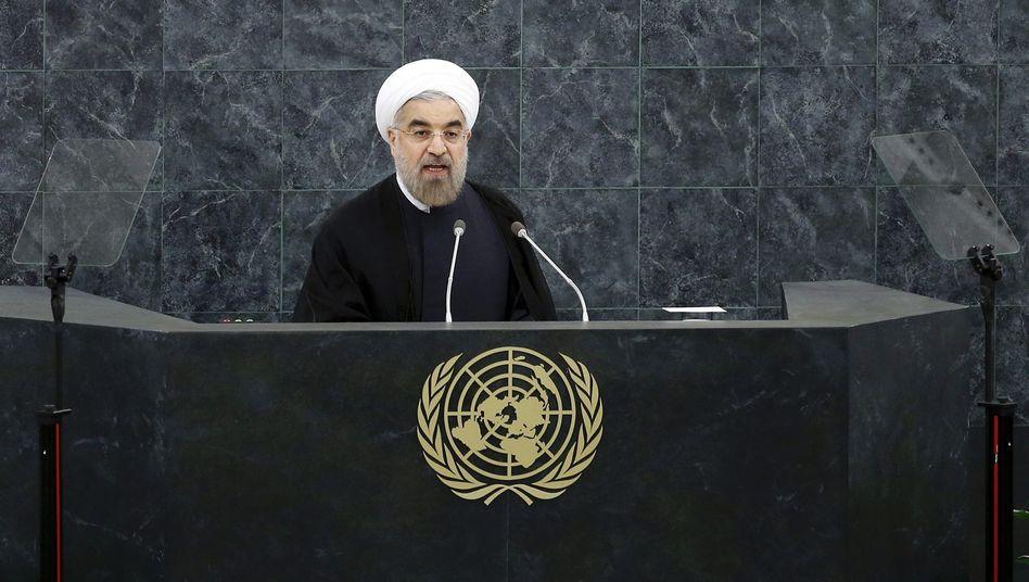 Rohani-Rede vor der Uno: Irans Präsident will über Atomprogramm verhandeln