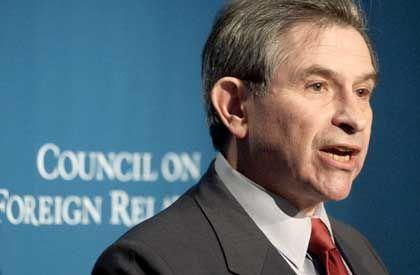 Paul Wolfowitz: Waffenbedrohung als passendes Kriegsargument