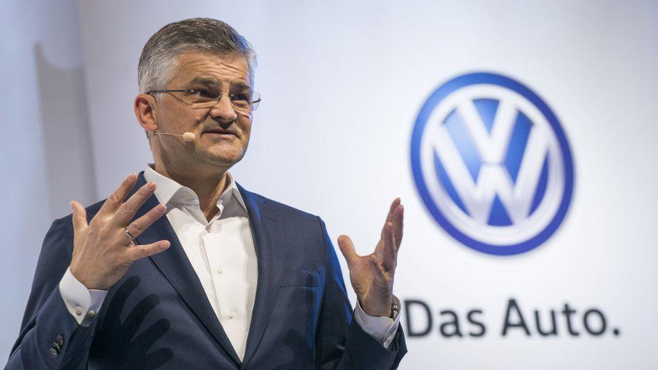 """US-VW-Chef Michael Horn: """"Wir werden mit den Behörden kooperieren"""""""