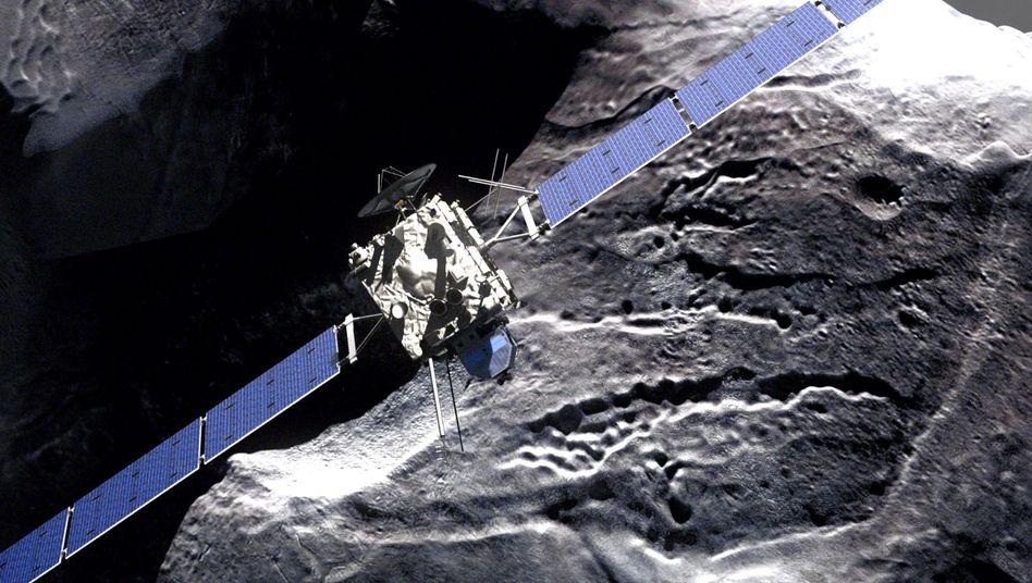 """Mission """"Rosetta"""": Ingenieure testen Harpune für erste Kometenlandung"""