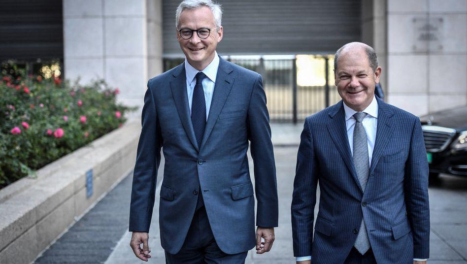 Bruno Le Maire und Olaf Scholz: Kleinere EU-Staaten wie die Niederlande stehen Mindeststeuern skeptisch gegenüber