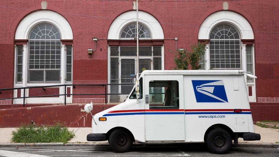 USPS-Postwagen: Gerade in diesem Jahr sind Briefstimmen entscheidend