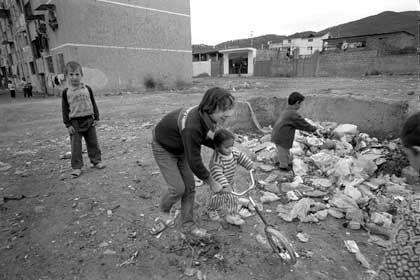 Lebensbedingungen in Albanien: Händler haben leichtes Spiel
