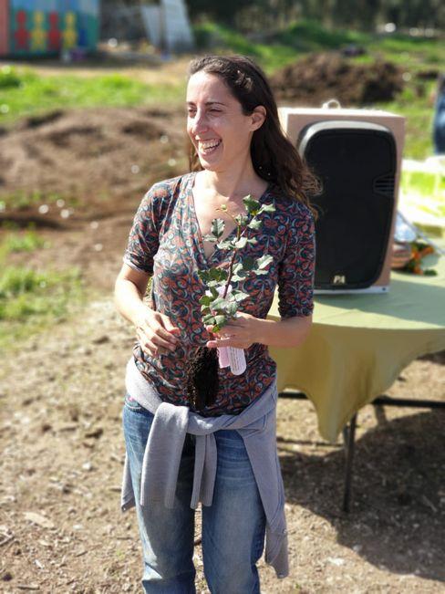 Lebt gern im Kibbuz: Noa Zahavi