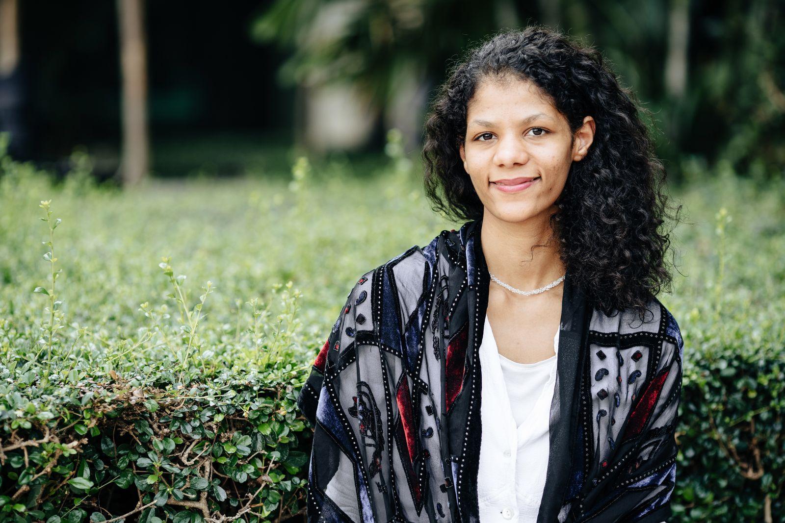 EINMALIGE VERWENDUNG Portrait/ Jamila Tressel