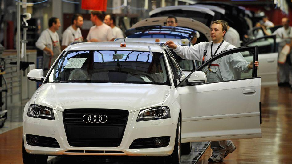 Audi-Produktion in Ingolstadt: Fünf Monate Wartezeit für den A3