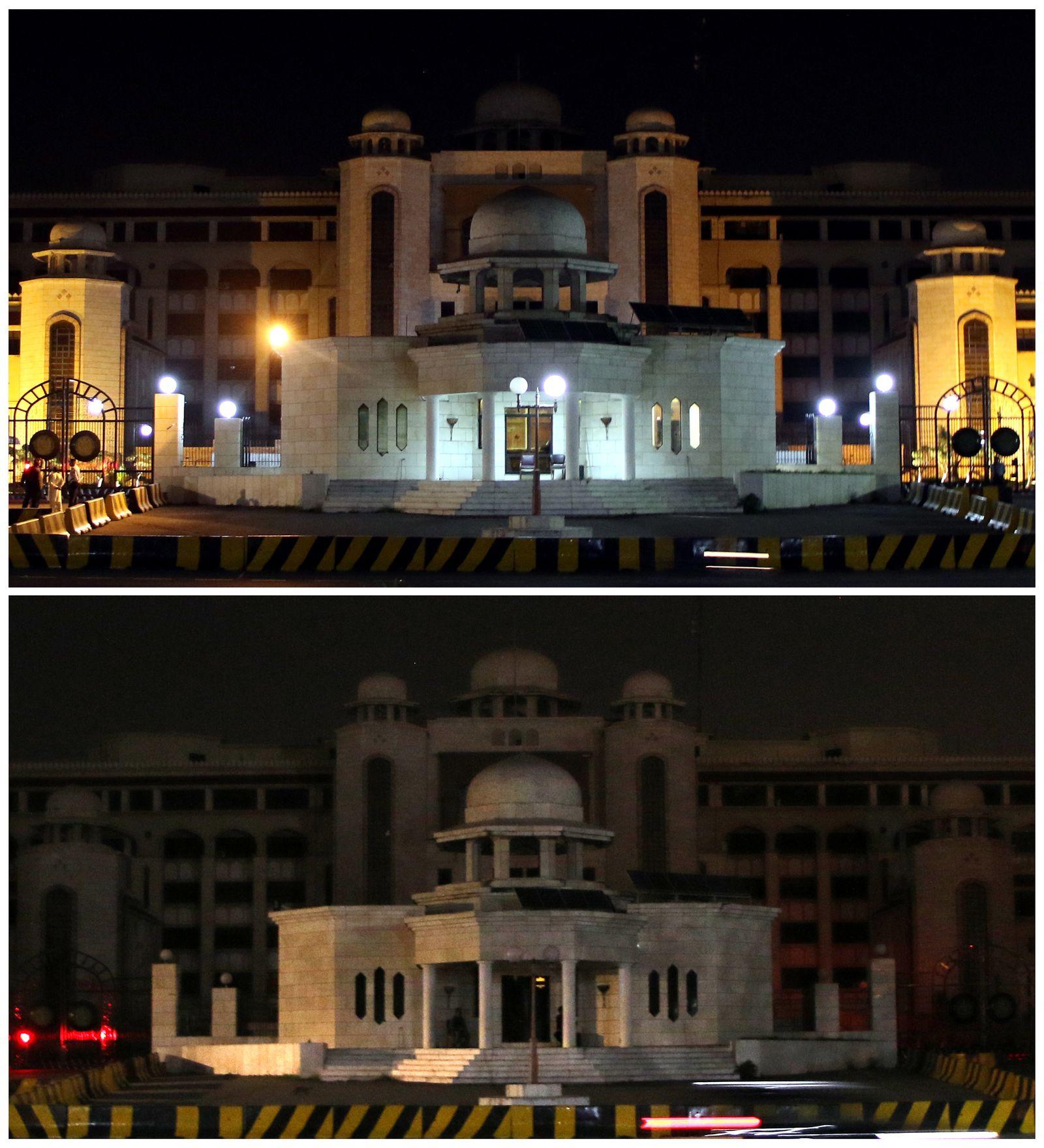 Earth Hour in Islamabad