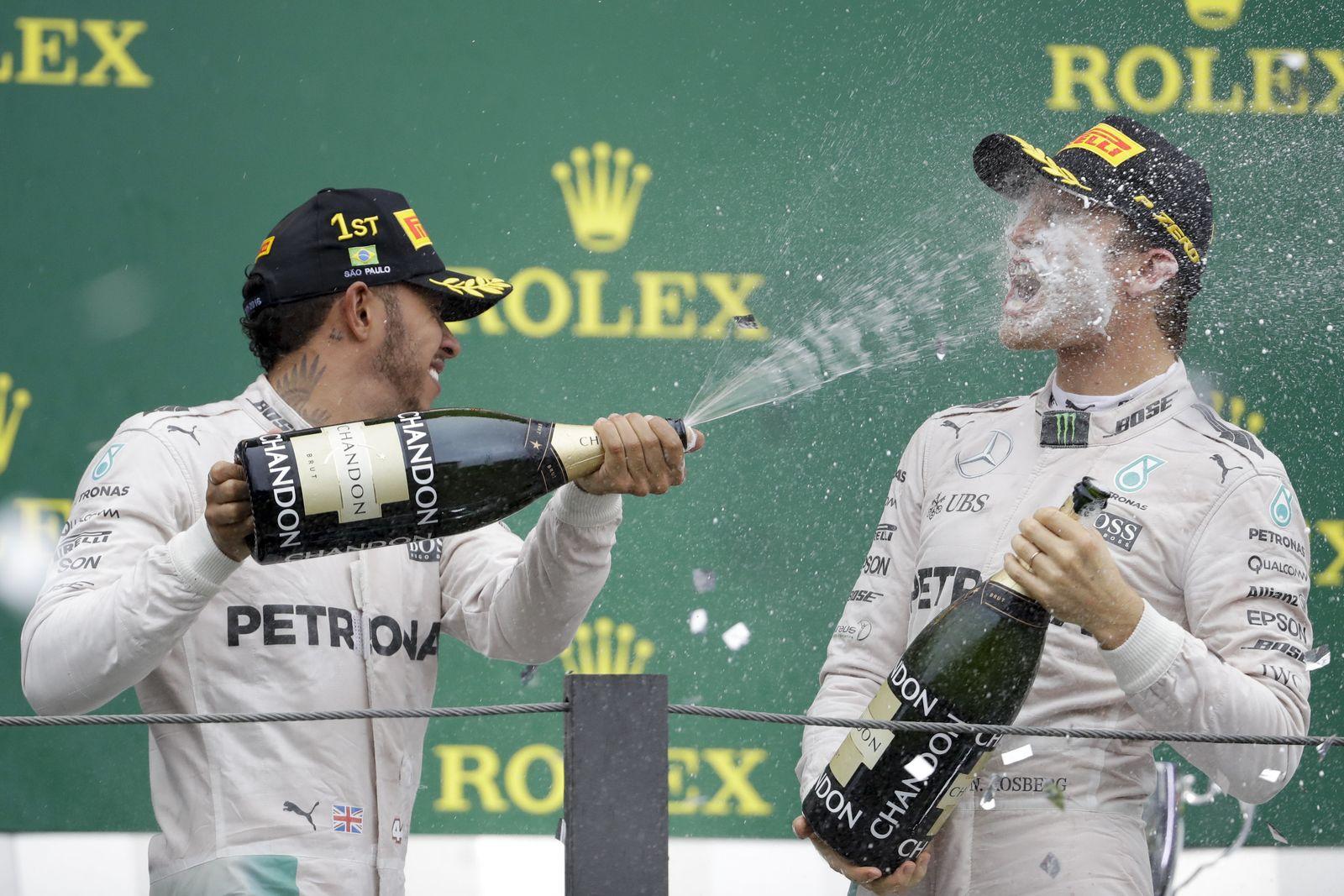 formel 1 Rosberg Hamilton
