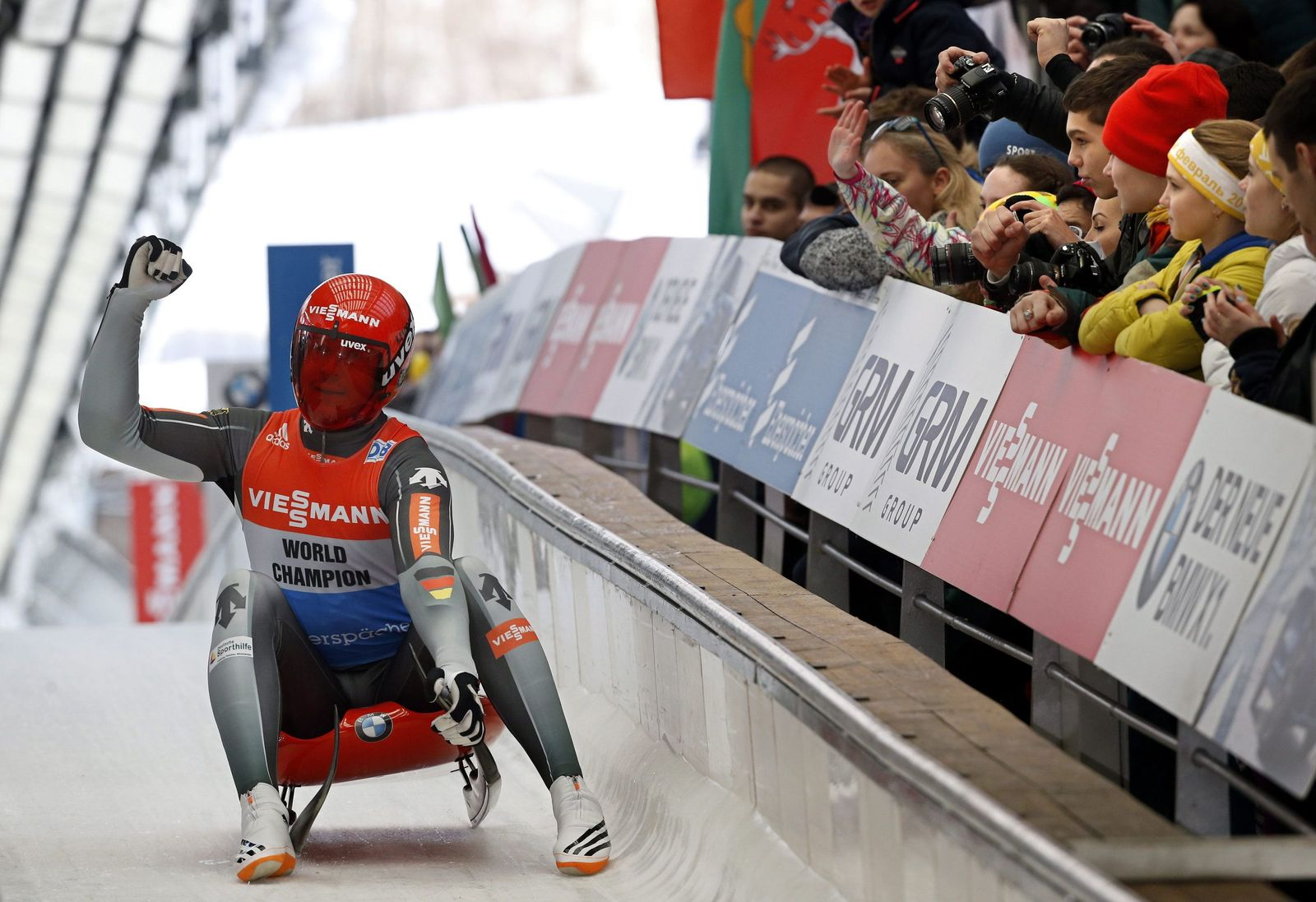 Luge World Cup in Sochi