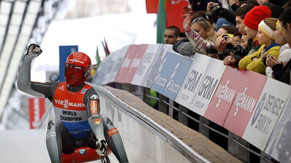 Rodel-Olympiasieger Loch: Kurz vor dem Gesamtweltcup-Sieg